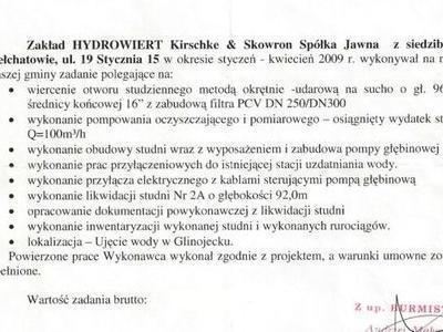 Referencje Glinojeck
