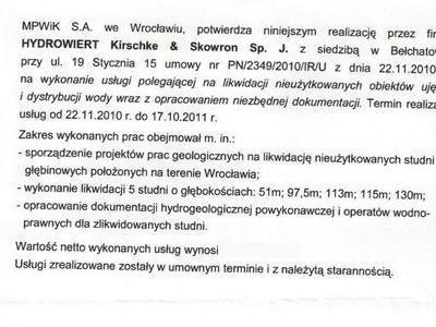 Referencje MPWiK 2